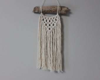 Macrame Hanging on Alberta Drift wood