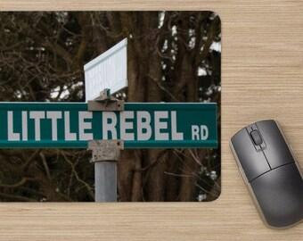 Mousepad Personalized Rebel Little Rebel Mousepad Personalized mousepad Name gift Name mousepad