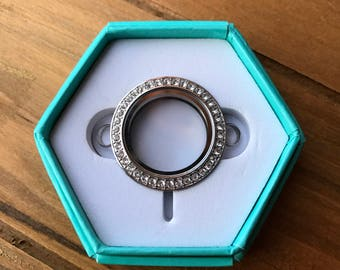 Origami Owl Over the Heart Locket