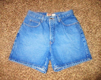 Vintage High Waist Denim Shorts Sz 8