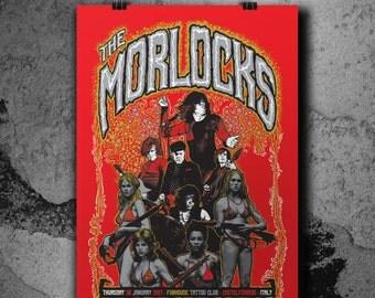 The Morlocks - Gig poster