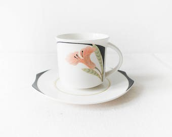 VILLEROY and BOCH china IRIS pattern Demitasse Cup