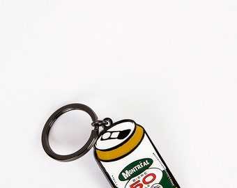 50 Beer Can Keychain
