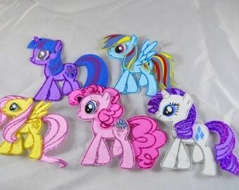 My little pony foam decoration