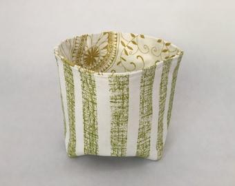 Green Fabric Bucket