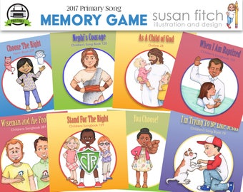 2017 LDS Primary Song Memory Game
