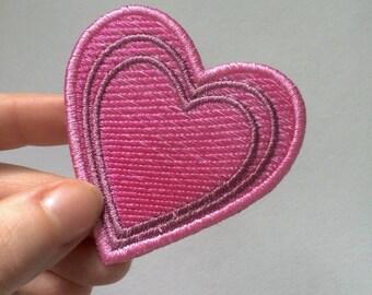 Growing Heart Emoji Patch
