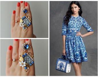 Earrings DOLCE style - Mosaic