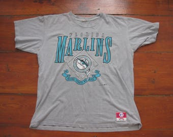 Florida Marlins t-shirt shirt Adult Large XL vintage