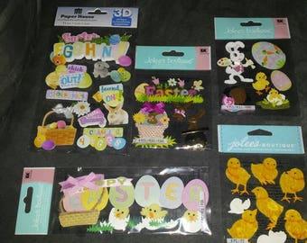 Easter sticker lot
