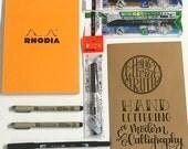PRE-SALE: Hand Lettering & Brush Calligraphy Starter Kit