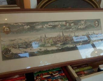 Königsberg Litho to 1930 Wolffy / vind in very good condition