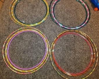 Beginner hoop package bundle deal pe, hdpe, polypro