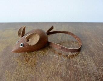 Mid Century Teak Mouse - Made in Denmark