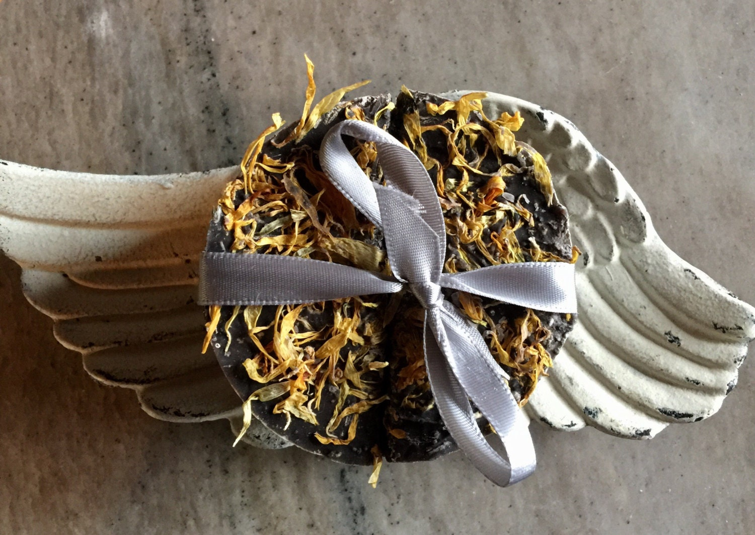 Lavender Calendula Moon Soap NOW ON SALE 2 for 6.00