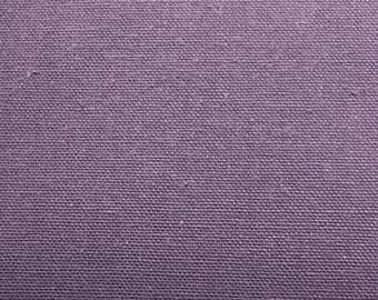 Purple Cotton Twill By The Yard