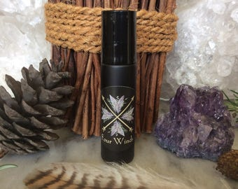 Four Winds Essential Oil Blend ~ Shaman, Wiccan, Ritual, Celtic, Hedge Witch Magick ~ Organic ~ Herbal Healing