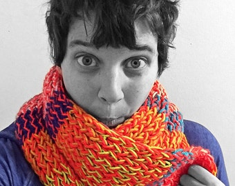 Hand-Knit Scarves