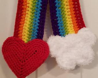 Happy Rainbow Scarf