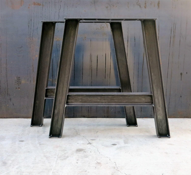 I Beam Steel Table Legs A Shape