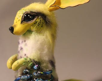 SOLD!(for example) OOAK fantasy creature Cokke