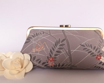 Japanese Silk Clutch Purse