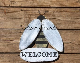 Bee Decor Rustic Signs Farm Country