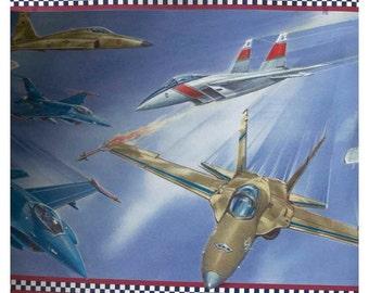 Fighter Planes CK10193 Wallpaper Border