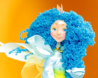 Handmade toys gift for child kawaii teacher gift gag gift pregnancy reveal something blue unique gift window decor cute gift for wedding