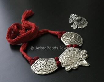 Handmade Tribal thread necklace, Ethnic, Traditional, Lambani Cord Necklace, Tribal Necklace, Thread Necklace