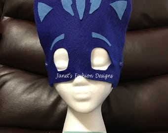 PJ Masks Inspired Catboy - Disney Jr - Birthday Party - Hallowen Pj Mask - Catboy Mask
