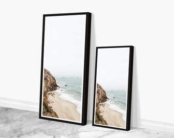 Large Beach Wall Art, Floor Standing Large Wall Art, Beach Photography, Modern Urban Art Prints, Nautical Wall Art