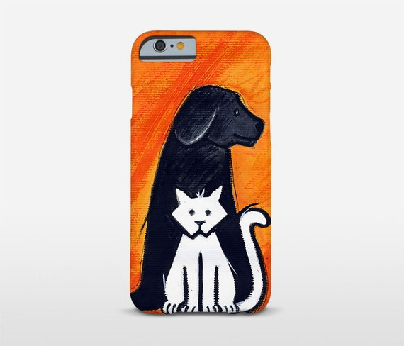 Pet Lover Gifts, Animal Phone Case, Illustration Art, Cat Dog Art, Mobile Phone Case, Cell Cover, Motorola Cases, iPhone Case and more