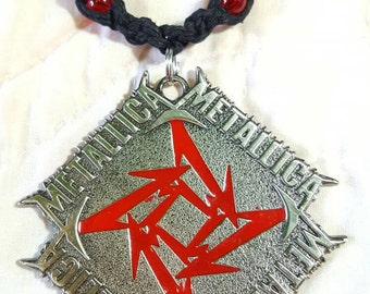 Give Me Fuel Metallica Hemp Necklace