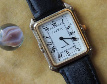 Vintage Lord Eton Quartz Watch