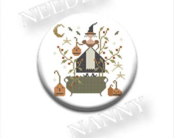 """MAGNETIC NEEDLE KEEP """"Witches Night Out"""" 