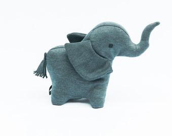 Elephant Plush, Elephant Stuffed Animal, Stuffed Elephant, Medium