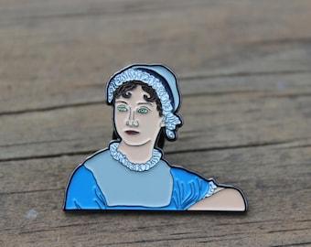 Jane Austen Soft Enamel Lapel Pin - Mother's Day Gift!