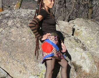 summer patchwork skirt