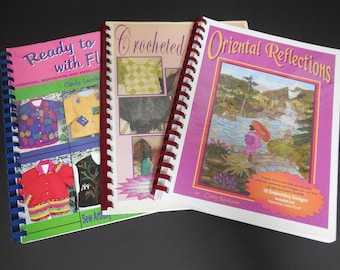 Machine Embroidery Work Books by Cindy Losekamp with Design CDs