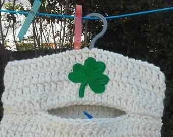 Crochet peg bag, clothespin bag, peg bag, washing peg bag, washing bag,ready to ship