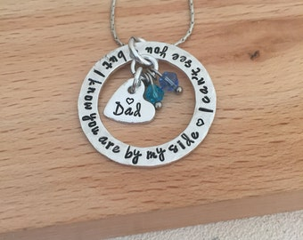 loss of father, dad,remembrance jewelry, memorial jewellery, dad, dad angel, angel necklace, sympathy gift, loss of husband, son, by my side