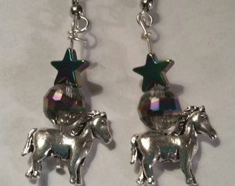 Horse Earrings