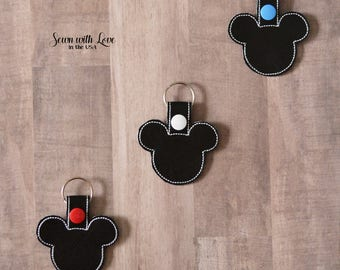 Mickey Mouse Key Chain | Key Fob | Mickey Mouse | Gifts Under 10 | Disney Gift | Disney Accessories | Gifts for All | Gift | Disney | Mickey