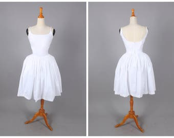 Penelope Dress in Solid White