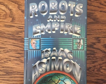 Vintage First Edition Robots And Empire Book by Isaac Asimov