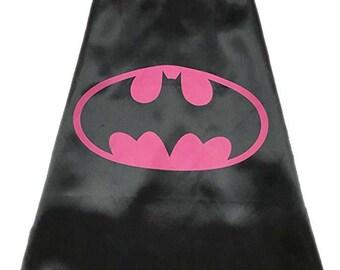 Batgirl inspired cape & mask set