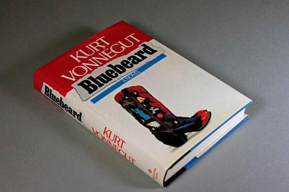 Hardcover Book, Bluebeard, Kurt Vonnegut, Literature, Fiction, Novel