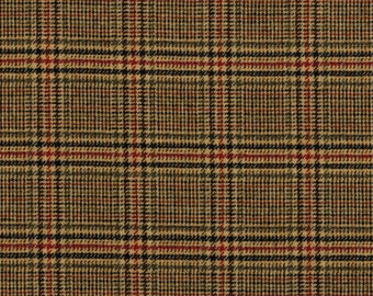 1670/25 Scottish Tweed Fabric 100% Wool Made In Scotland By The Metre