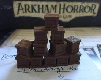 Arkham Horror The Card Game Resource Tokens 3D